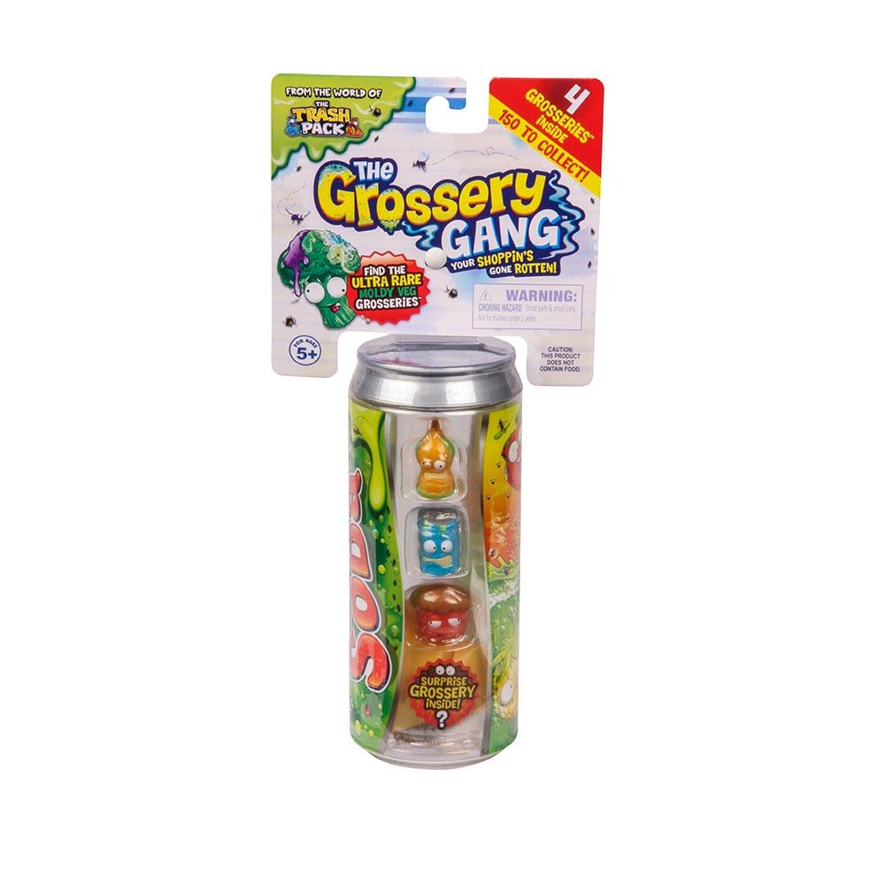 The Grossery Gang: Lata com 4 Personagens - DTC