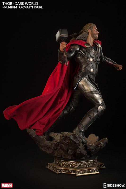Estátua Thor: O Mundo Sombrio (The Dark World) Premium Format Escala 1/4 - Sideshow - CD