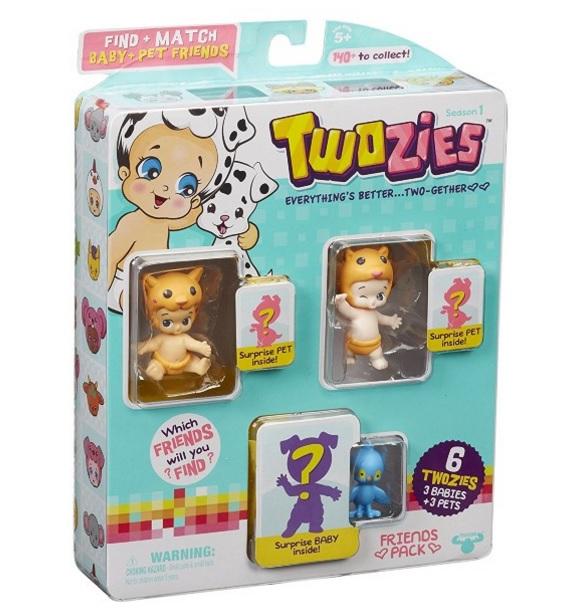 Twozies: Kit Parceiros com 6 Figuras Sortidas - DTC