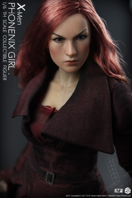 Boneco Jean Grey (Phoenix Girl): X-Men Escala 1/6 - CGL Toys
