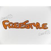 Par Adesivos Ford Ecosport Freestyle Laranja Frstlla