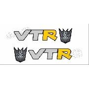 Par Adesivos C4 Vtr Transformers C428