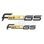 Emblema Adesivo Bmw F650gs Par Bwf65002