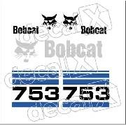 Kit Adesivos Bobcat 753