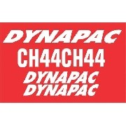 Kit Adesivos Dynapac Ch44