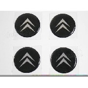 Adesivos Emblema Resinado Roda Citroen 48mm Cl1