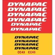 Kit Adesivos Dynapac Cc43