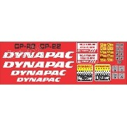 Kit Adesivos Dynapac Cp22