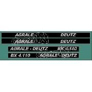 Kit Adesivos Agrale Bx4110