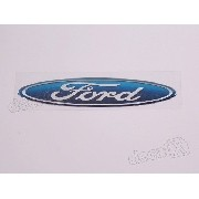 Adesivo Emblema Volante Ford Fiesta Ecosport Resinado 3x14cm