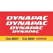 Kit Adesivos Dynapac Ca25p