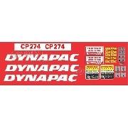 Kit Adesivos Dynapac Ct274
