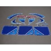 Kit Adesivos Agrale El 1985 Branca E Azul 00395