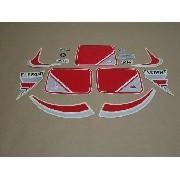 Kit Adesivos Agrale El 1985 Branca E Vermelha 00396