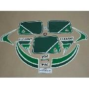 Kit Adesivos Agrale El 1985 Branca E Verde 00398