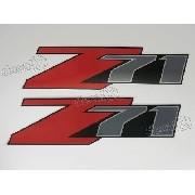 Par Adesivos Z71 Chevrolet Fora De Estrada Ofrz712
