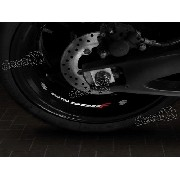Adesivos Centro Roda Refletivo Moto Suzuki Gs500f Rd3