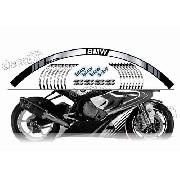 Kit Adesivo Friso Refletivo Roda Moto Bmw Fri05