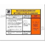 Adesivo Recomendacao Troca Oleo Chevette Opala Monza Kadett