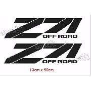 Adesivo Chevrolet Z71 Off Road Preto Ofrz71p