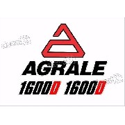 Kit Adesivos Trator Agrale 1600d 1600