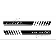 Adesivo Faixa Lateral Citroen C3 Sport 3m C325