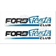 Adesivo Faixa Ford Fiesta Fst007