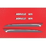 Kit Adesivos Trator Agrale 5075