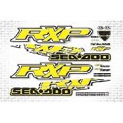 Kit Adesivo Jet Ski Sea Doo Rxp 155 Amarelo 2009 Sd14