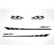 Kit Adesivo Faixa Chevrolet Onix Gt Onix08