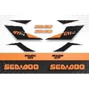 Kit Adesivo Jet Ski Sea Doo Gti 130 2010 Sd10