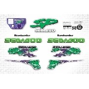 Kit Adesivo Jet Ski Sea Doo Sp 1997 Sd11