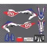 Kit Adesivo Moto Cross Trilha Bmw G450x Tricolor 0,50mm 3m