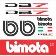 Adesivo Bimota Db7 Decalx