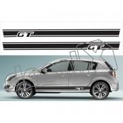 Adesivo Chevrolet Vectra Faixa Lateral 3m Gt001