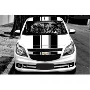Adesivo Kit Faixa Chevrolet Agile Capo Teto Mala 3m Ag016