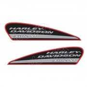 Adesivo Tanque Harley Davidson Sportster Xr 1200 Hdsxr002
