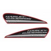 Adesivo Tanque Harley Davidson Sportster Xr 1200 Hdsxr003