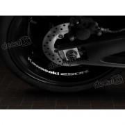 Adesivos Centro Roda Refletivo Moto Kawasaki 250r Rd1
