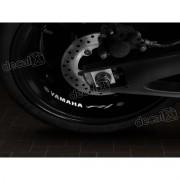 Adesivos Centro Roda Refletivo Moto Yamaha Fz1 Rd23