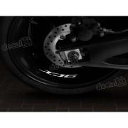 Adesivos Centro Roda Refletivo Moto Yamaha Xj6 Rd18
