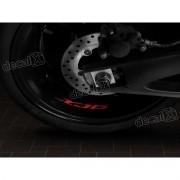 Adesivos Centro Roda Refletivo Moto Yamaha Xj6 Rd20