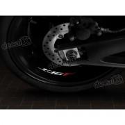 Adesivos Centro Roda Refletivo Moto Yamaha Xj6f Rd22