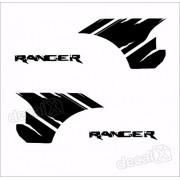 Adesivos Faixa Caçamba Ford Ranger Ran76