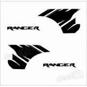 Adesivos Faixa Caçamba Ford Ranger Ran79