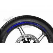 Adesivos Friso Refletivo Roda Moto Kawasaki Er-6n Azul