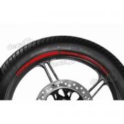 Adesivos Friso Refletivo Roda Moto Kawasaki Er-6n Vermelho