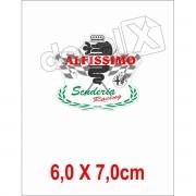 Emblema Adesivo Resinado Alfa Romeo Res4