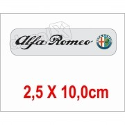 Emblema Adesivo Resinado Alfa Romeo Res8