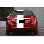 Faixa Adesivo Teto E Mala Chevrolet Cruze Czrl03